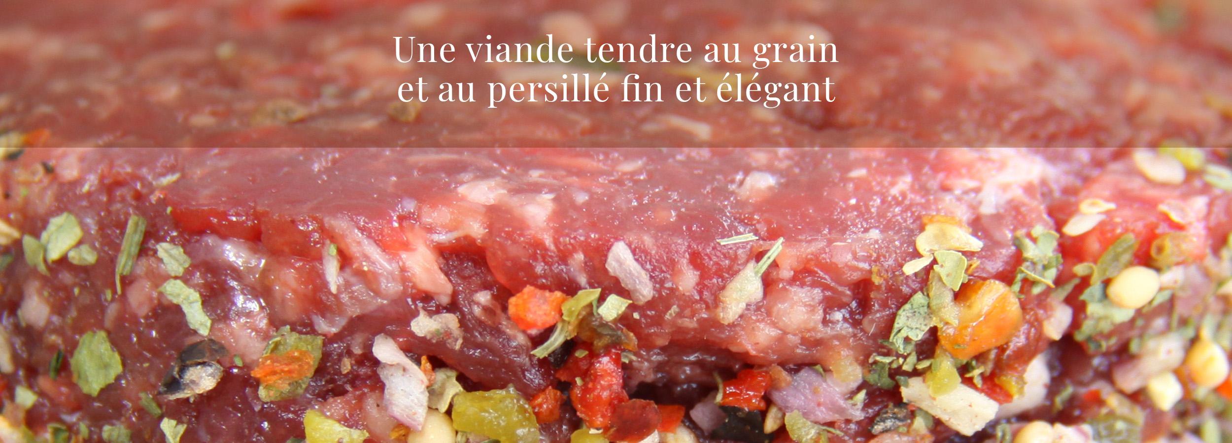 viande d'exception signée Maison Voland