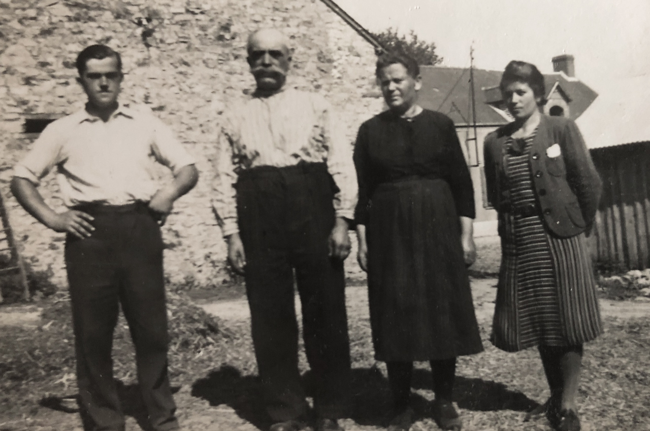 1920, famille Voland