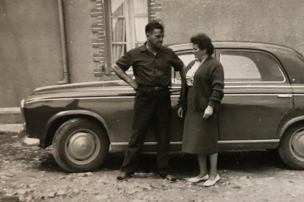1946 les aïeuls de la famille Voland